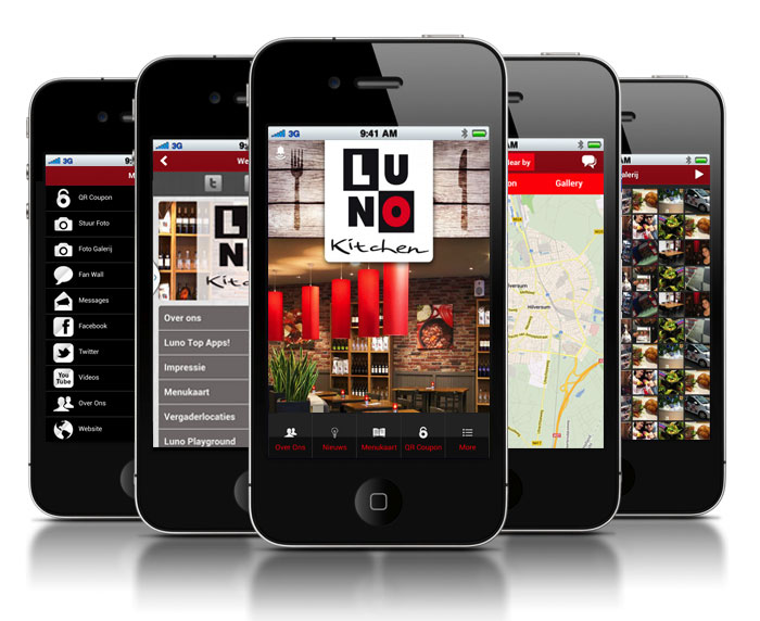 Horeca App iMediaStars