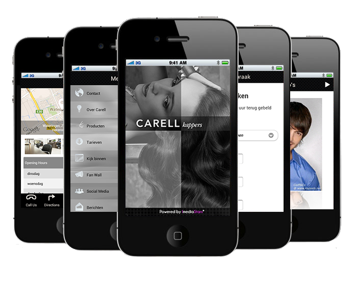 Carell-Kappers-App