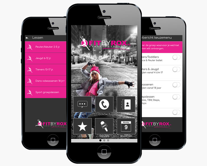 Fit by Rox Fitness App