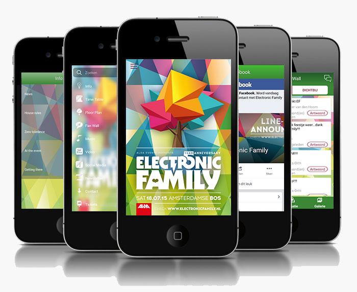 Electronic Family 2015 Festival App