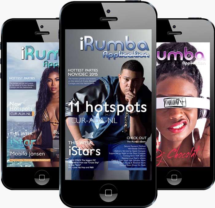 iRumba app iMediaStars