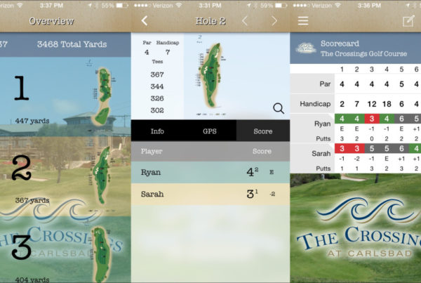 Golf App iMediaStars