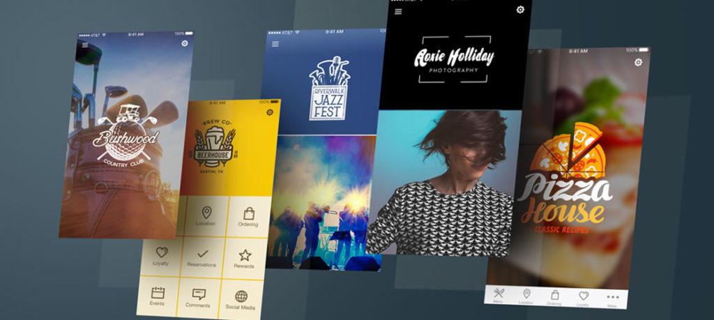 App designs en navigatie