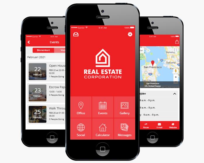 Voordelen Makelaars App iMediaStars