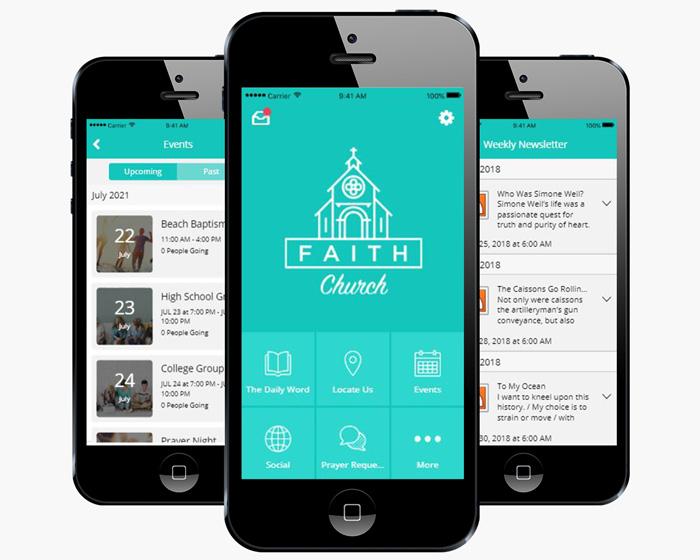 Voorwarden Kerk App