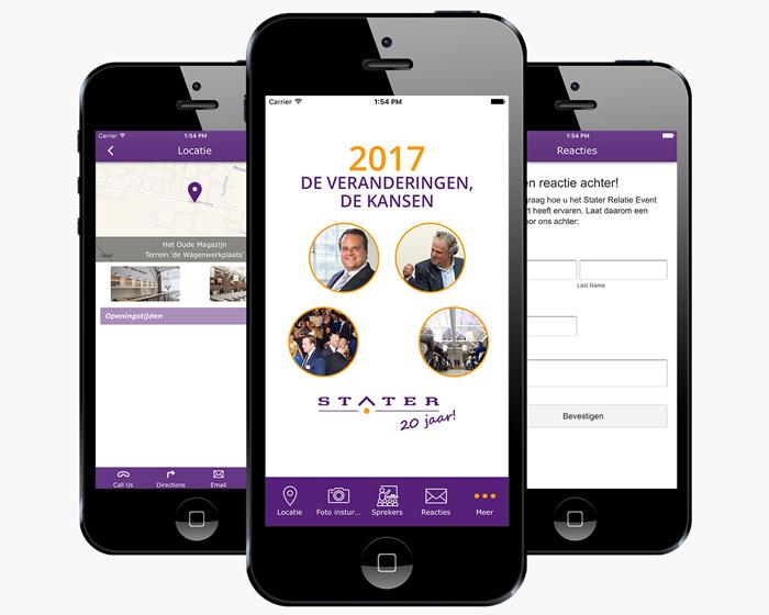 stater evenementen app