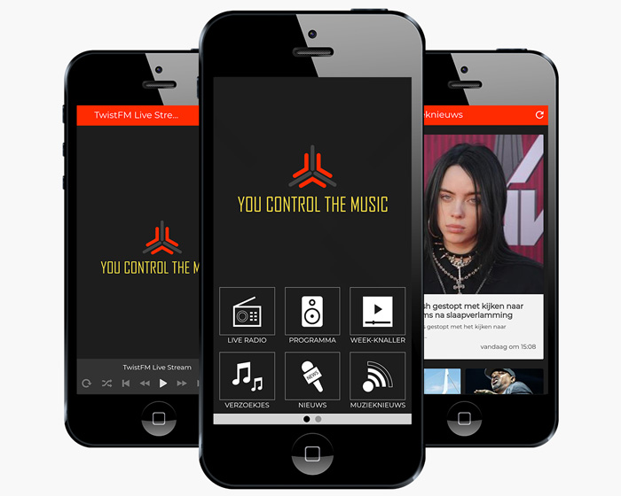 Twist FM Radio App