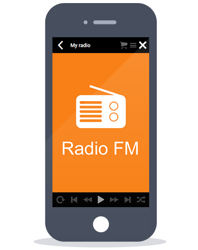 iPhone en Android radio app imediastars
