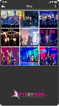 foto galerij toon afbeeldingen in de app